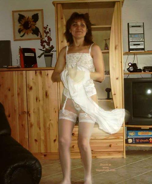 Pic #2 - Rita Completely Dances In White.