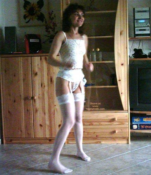 Pic #3 - Rita Completely Dances In White.