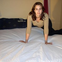 *Hr Sue Trying Anal In Bed