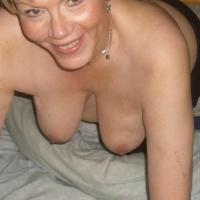 Medium tits of my wife - eve