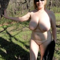 A Little Skin at The Park - Outdoors, Big Tits, Mature