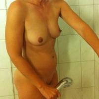 Very small tits of my girlfriend - Sabine