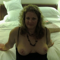 Medium tits of my wife - awesome wife