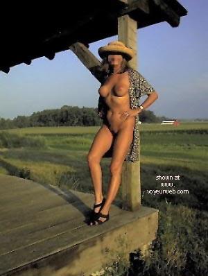 Pic #3 - Natalie At Historical Cabin