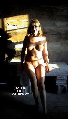 Pic #5 - Natalie At Historical Cabin
