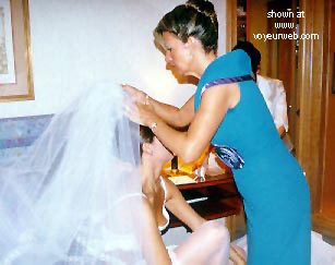Pic #4 - Preparing For Her Wedding