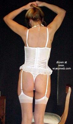 Pic #1 - J In White Corset
