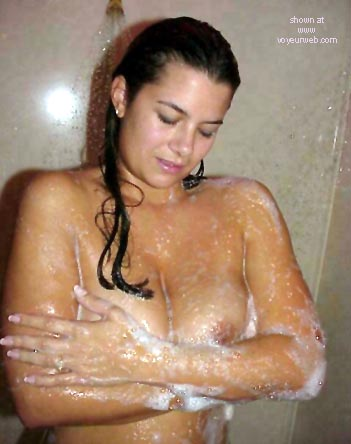 Pic #6 - Nikki's      Getting Wet