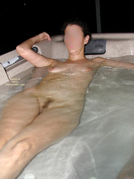 Pic #1 - Wife In The Hot Tub