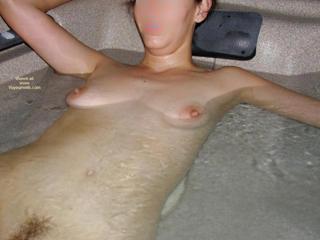 Pic #4 - Wife In The Hot Tub