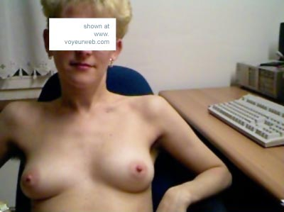 Pic #4 - Wife      At Work
