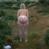 Sue From The Rear 2002 to 2012 - Blonde, Outdoors, Lingerie, Big Ass, BBW