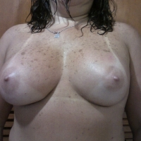 Large tits of my wife - Leka