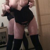 Medium tits of my wife - Kt