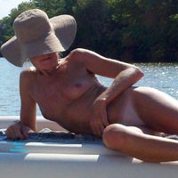 MILF Boating Fun - Outdoors, Beach, Bikini Voyeur