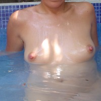 Small tits of my wife - Catalina
