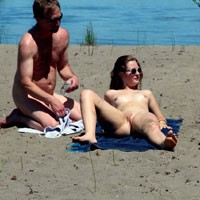 Attracting Attention - Beach Voyeur