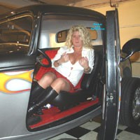My Love For Transportation 1 - Big Tits, Blonde, Pussy, Shaved