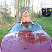 My Love For Transportation 2 - Big Tits, Blonde, Pussy, Shaved