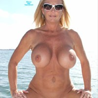 Chrissy on the Boat III - Big Tits, Blonde, Pussy, Shaved