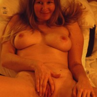 Anita Working Her Favourite Toy - Big Tits, Toys