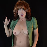 Salute The Troops - Big Tits, Redhead, Pussy, Shaved