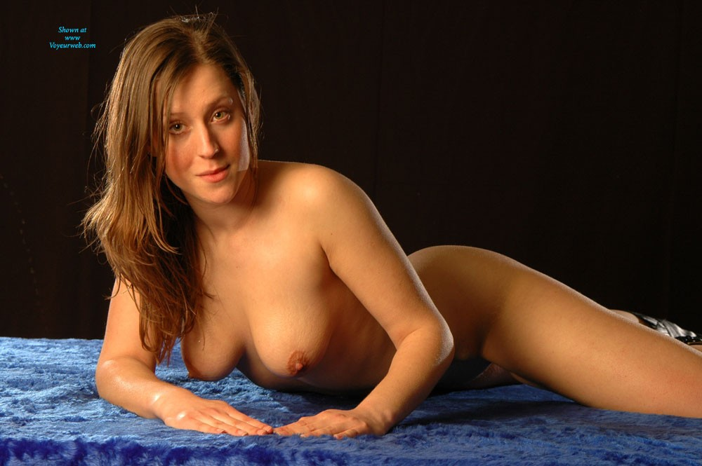 Nude Photoshoot 2 - Big Tits, Brunette Hair, Pussy Lips, Shaved