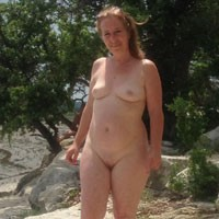 Playing Outside - Big Tits, Outdoors, Pussy, Bush Or Hairy