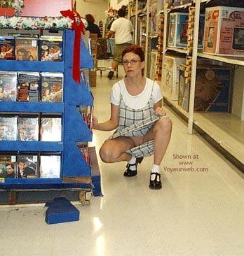 Pic #4 - Lvhornywife Shopping Again