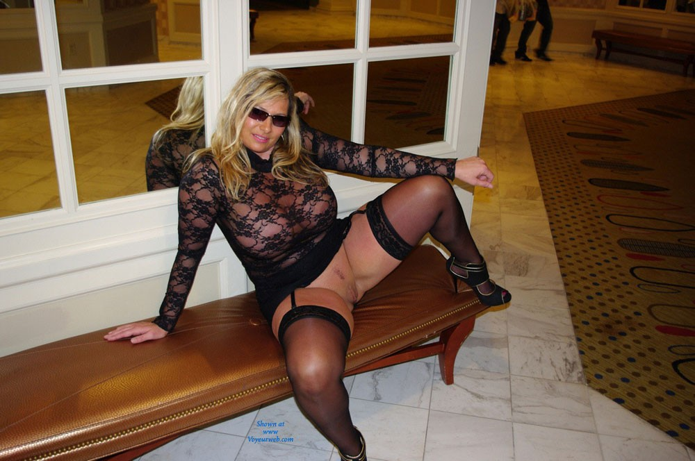 Undressed To Go Out In Vegas - Big Tits, Heels, Nude In Public, Pussy Lips, See Through, Shaved , I Got Dressed For Attention To Go Clubbing In Las Vegas