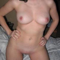 Medium tits of my wife - Kelly