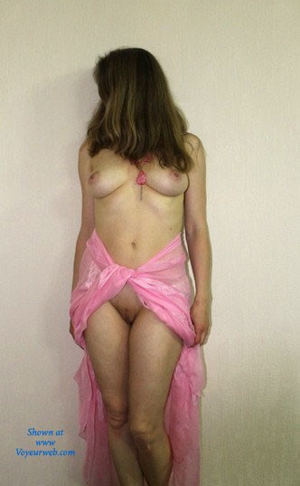 Pic #7 - Pink - Big Tits, Brunette, Pussy, Shaved