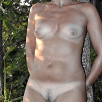 Marghi Outdoors  2 - Nature, Blonde, Pussy, Shaved