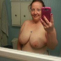 Very large tits of a neighbor - Jenny