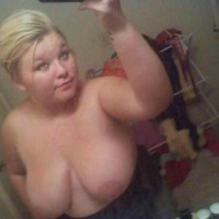 Very large tits of a neighbor - Hannah