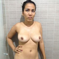 Daniela at Home - Big Tits, Brunette, Close-Ups, Natural Tits, Pussy