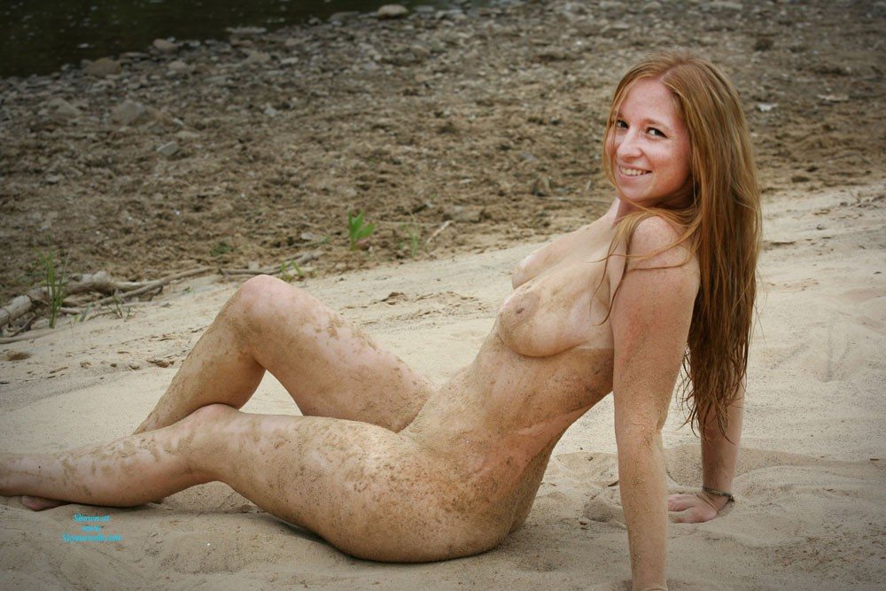 Pic #9 Down & Dirty - Beach, Big Tits, Firm Ass, Pussy, Redhead, Shaved, Wet