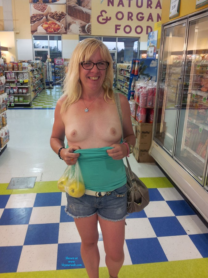 Pic #1 - My Girl GG - Blonde Hair, Exposed In Public, Flashing, Natural Tits, Nude In Public, Pussy Lips, Shaved, Small Tits, Wife/Wives, Dressed