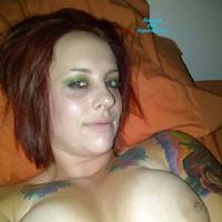 Hot Sisters - Tattoos, Big Tits, Body Piercings, Redhead