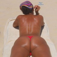 On The Beach - Bikini Voyeur, Brunette, Firm Ass, Beach