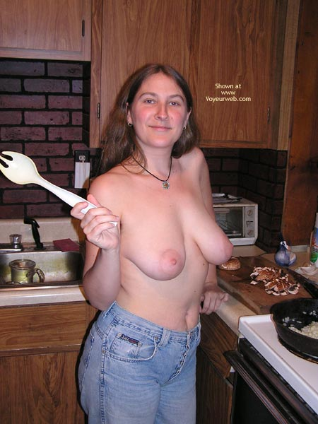 Pic #1 - Caught In The Kitchen