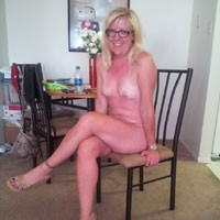 Naked at Home - Blonde, High Heels Amateurs, Mature, Medium Tits, Natural Tits, Pussy, Shaved