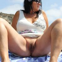 My First! - Outdoors, Brunette