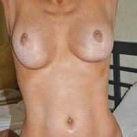 Wife's Round Natural Tits - Big Tits, Natural Tits, Round Tits, Wife/Wives, Pussy, Bush Or Hairy