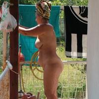 Taking a Shower - Big Tits, Big Ass