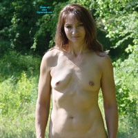 Outside On The Homestead 2 - Brunette, Medium Tits, Nature