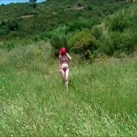 Daisy in The Countryside! - Bikini Voyeur, Masturbation, Medium Tits, Nature, Redhead, Softcore