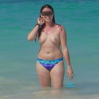 San Jaun - Beach, Medium Tits, Hard Nipples