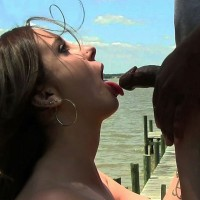 Lizzy's Fun in The Sun - Brunette, Medium Tits, Outdoors