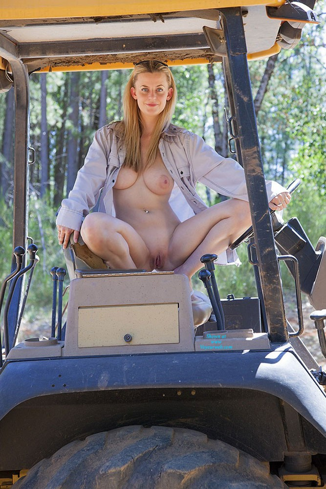 milfs tractors Mature nude on